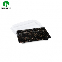 Harvest HP-07 disposable food packing container sushi tray