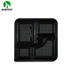 Japanese lunch food packaging disposable plastic bento box