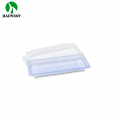 Harvest HP-02 OEM ODM accepted PS plastic printing sushi tray container