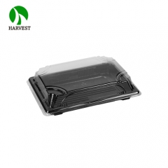 Harvest PLA-05 Professional Manufacturer Biodegradable PLA Sushi Packaging Tray