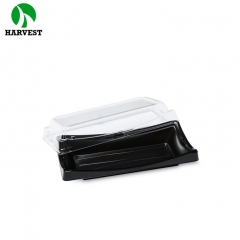 Harvest BF-30 Disposable Plastic Sushi Dessert Food Packaging Tray