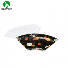 Harvest HP-08 Disposable Fan-Shaped Sushi Trays